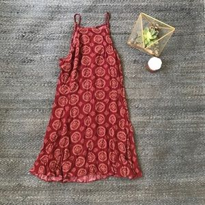 Brandy Melville One Size Red Dress